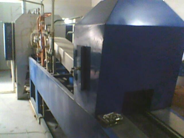 高温连续式气氛保护钎焊炉