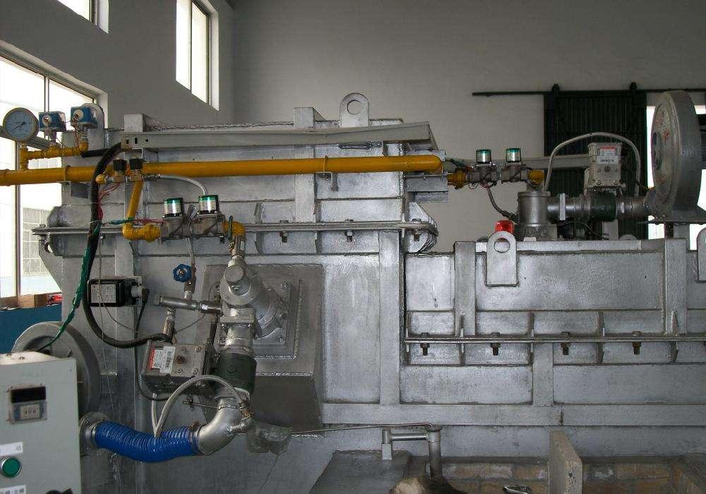 铝合金集中式熔化炉
