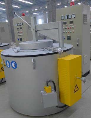电热式铝合金熔化保温坩埚炉