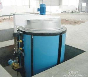 650度井式气体氮化炉